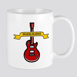 Rock Will Never Die Mug