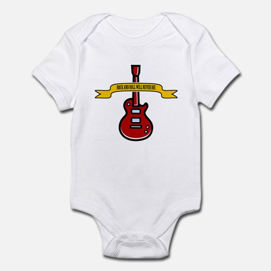 Rock Will Never Die Infant Bodysuit
