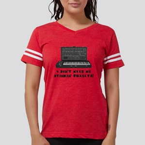 """No Presets"" Womens Football Shirt T-Shi"