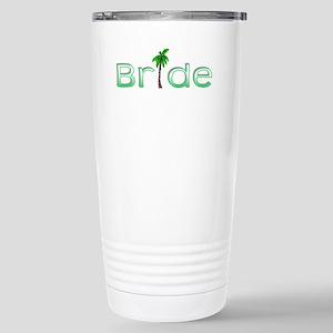 Bride (Palm, Green) Stainless Steel Travel Mug