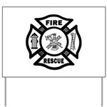 Fire Rescue Yard Sign