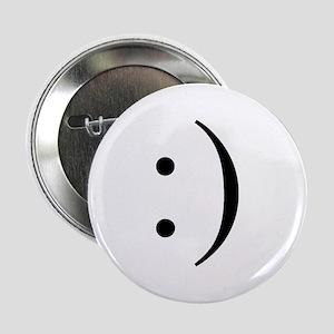 """Colon Smiley 2.25"""" Button"""