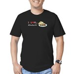 I Love Rhubarb Men's Fitted T-Shirt (dark)