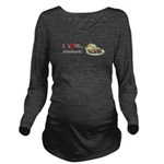 I Love Rhubarb Long Sleeve Maternity T-Shirt