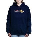 I Love Rhubarb Women's Hooded Sweatshirt