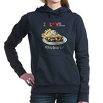I Love Rhubarb Women's Hooded Sweatshirt