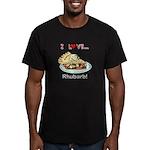 I Love Rhubarb Men's Fitted T-Shirt (dark)