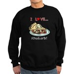 I Love Rhubarb Sweatshirt (dark)
