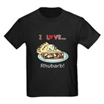 I Love Rhubarb Kids Dark T-Shirt