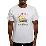 I Love Rhubarb Light T-Shirt