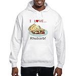 I Love Rhubarb Hooded Sweatshirt