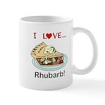 I Love Rhubarb 11 oz Ceramic Mug