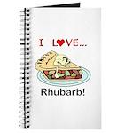 I Love Rhubarb Journal
