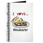 I Love Rhubarb Journal