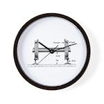 The Steel Wheel Wall Clock