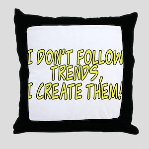 Trend Setter Throw Pillow