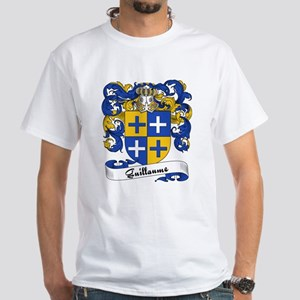 Guillaume Family Crest White T-Shirt