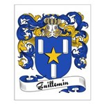 Guillemin Family Crest Small Poster