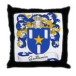 Guillemin Family Crest Throw Pillow