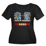 Obama NObama Big Asshole Women's Plus Size Scoop N