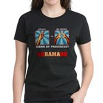 Obama NObama Big Asshole Women's Dark T-Shirt