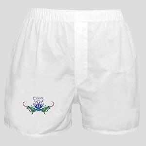 Elliott's Celtic Dragons Name Boxer Shorts