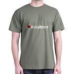 """I [heart] blasphemy"" Dark T-Shirt"