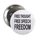 """FREEDOM"" 2.25"" Button"