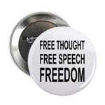 """FREEDOM"" 2.25"" Button (100 pack)"