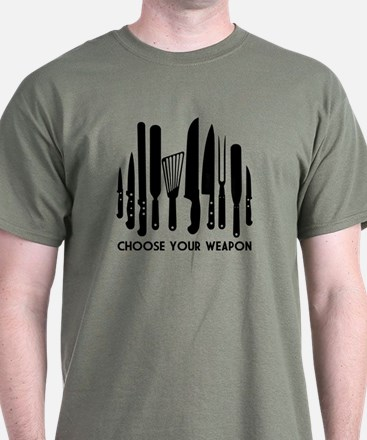 Choose Weapon T-Shirt