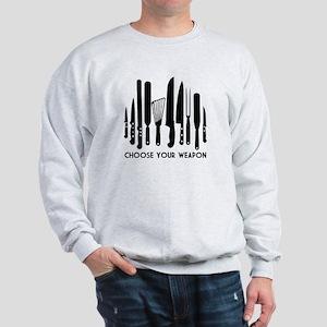 Choose Weapon Sweatshirt