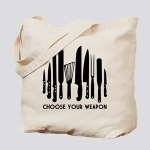 Choose Weapon Tote Bag