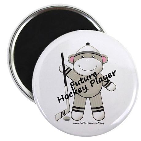 Future Hockey Player Magnet