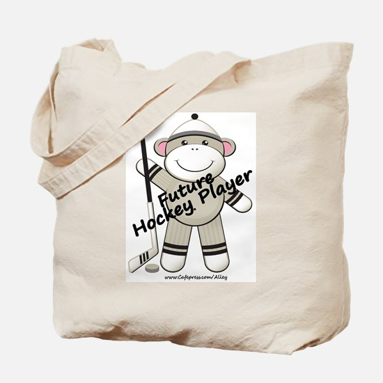 Future Hockey Player Tote Bag