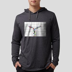 Rainbow Zipper Long Sleeve T-Shirt
