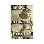 Big Girl Panties Rectangle Magnet