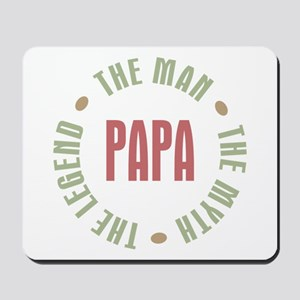 Papa Man Myth Legend Mousepad