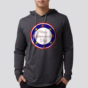 Happy Independence Day Mens Hooded Shirt