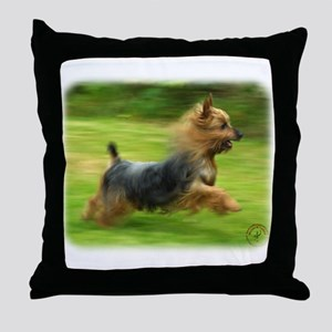 Australian Silky Terrier 9B19D-03 Throw Pillow