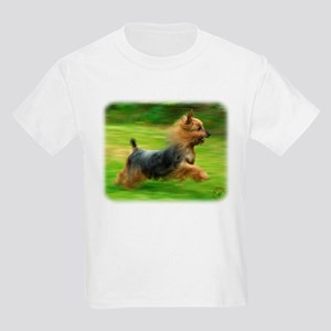 Australian Silky Terrier 9B19D-03 Kids Light T-Shi