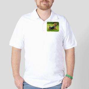 Australian Silky Terrier 9B19D-03 Golf Shirt