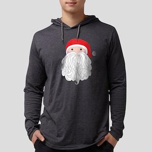 Santa Mens Hooded Shirt