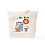 Garden Diva Tote Bag