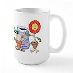 Garden Diva Large Mug