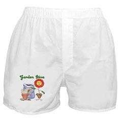 Garden Diva Boxer Shorts