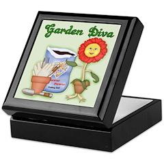 Garden Diva Keepsake Box