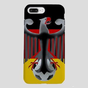 German Soccer Flag iPhone 8/7 Plus Tough Case
