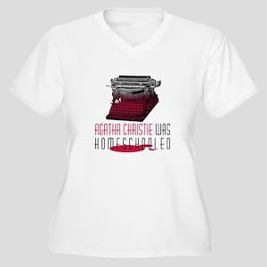 Agatha Women's Plus Size V-Neck T-Shirt