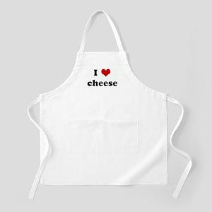 I Love cheese BBQ Apron