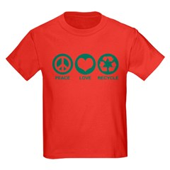 Peace Love Recycle T